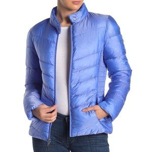VIA SPIGA NEW Smocked Quilted Puffer Jacket